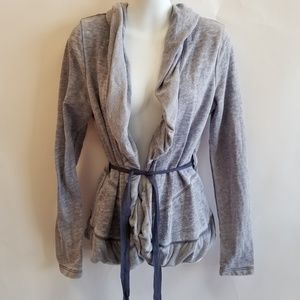 NWT Juicy Couture Shawl Collar Wrap